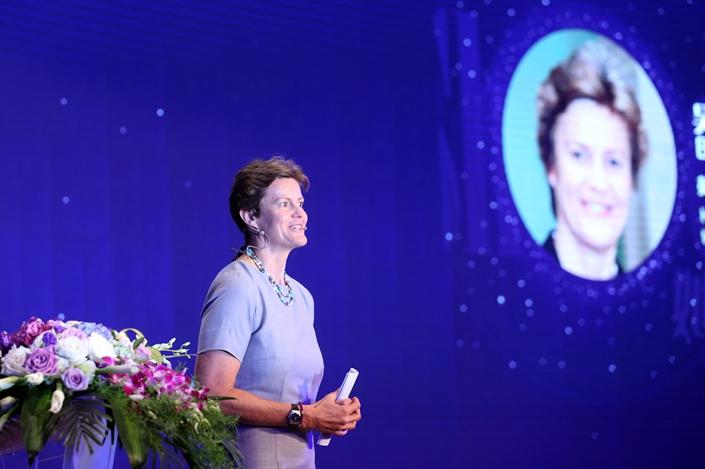 United Kingdom Ambassador to China Dame Barbara Woodward. Photo: IC