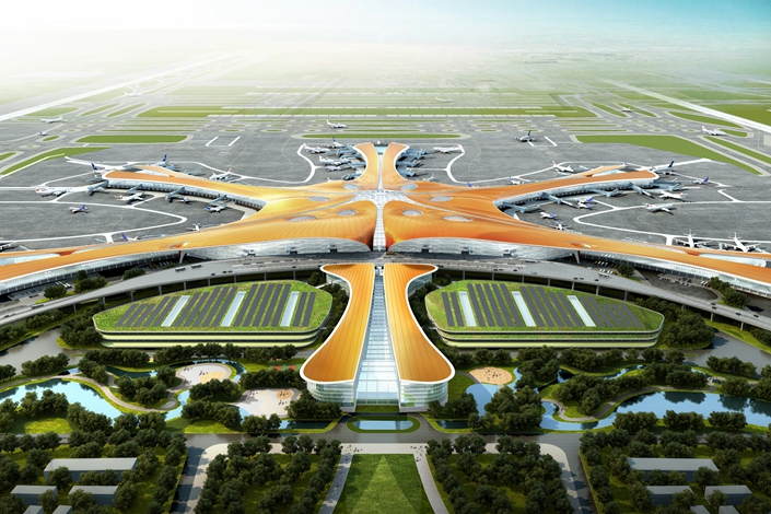 Beijing Daxing International Airport. Photo: dezeen.com