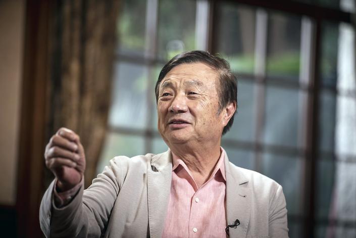 Ren Zhengfei. Photo: Bloomberg