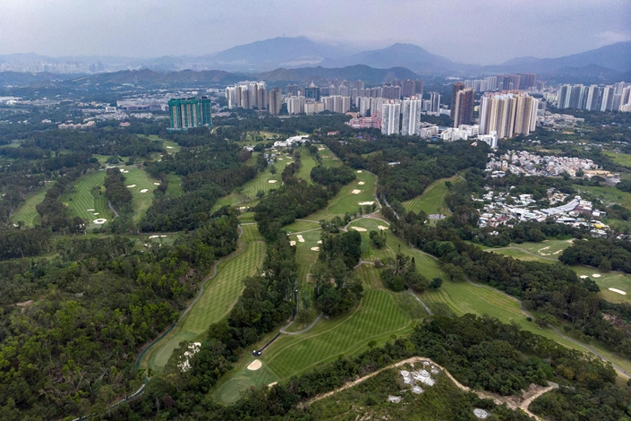 Hong Kong's government plans to take back 748 plots of private land in the city's northern New Territories. Photo: VCG