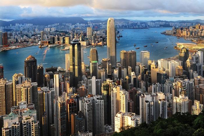 Hong Kong's Kowloon district. Photo: VCG