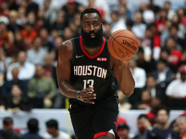 NBA 2018 Most Valuable Player James Harden. Photo: Bloomberg