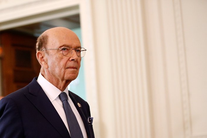 U.S. Commerce Secretary Wilbur Ross. Photo: IC Photo