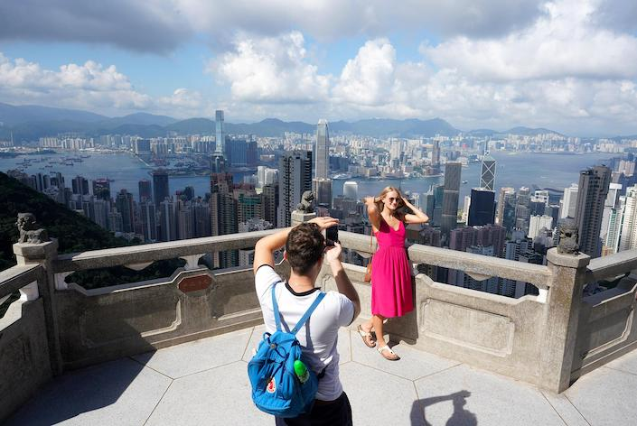 Escalating social unrest in Hong Kong has scared away tourists, especially mainland visitors. Photo: VCG