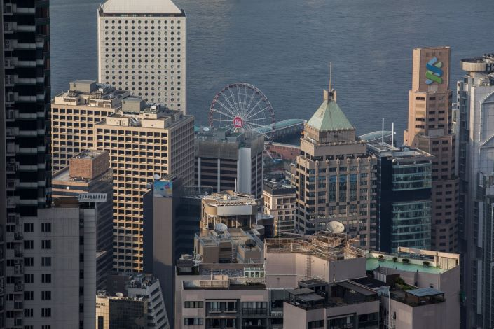 Hong Kong's Central District and Victoria Harbor. Photo: Bloomberg