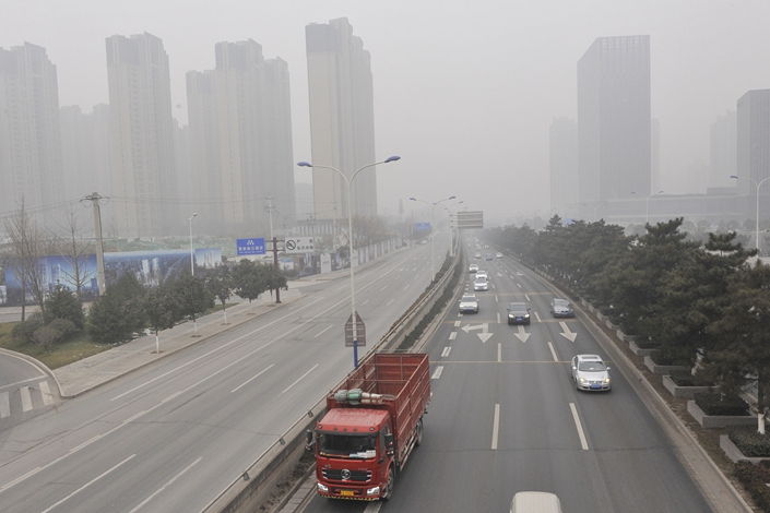 Colder months typically bring heavy smog and higher concentrations of PM2.5 to northern China as residents switch on heaters and coal-fired burners. Photo: VCG