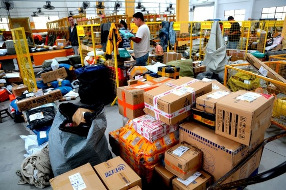 China Online Retail Sales Growth Slows but Stays in Double-Digits