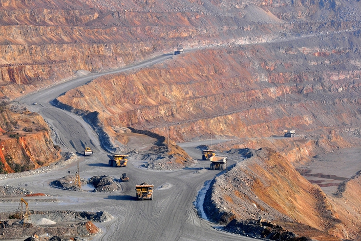 Jiangxi Copper was the world's 24th largest producer of copper last year. Photo: VCG