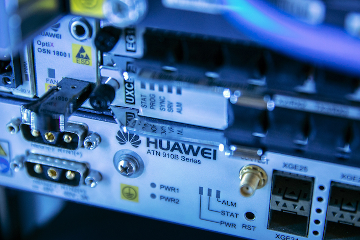Huawei is also pursuing a legal and public relations campaign against a U.S. trade ban. Photo: Bloomberg