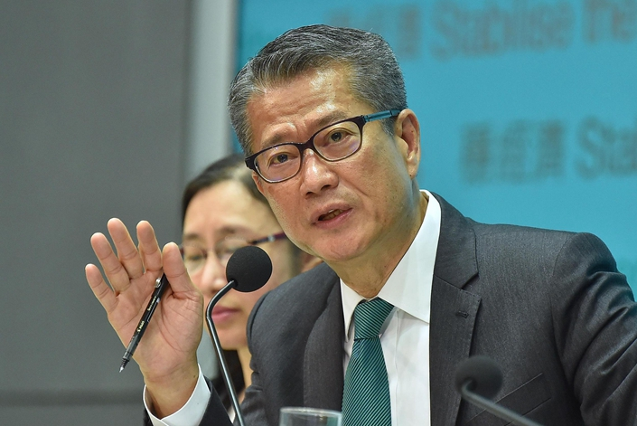 Hong Kong Financial Secretary Paul Chan Mo-po. Photo: VCG