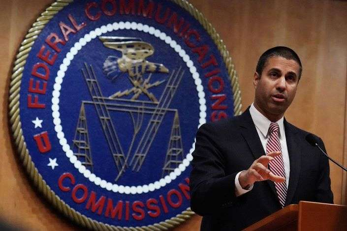 Federal Communications Commission Chairman Ajit Pai. Photo: VCG