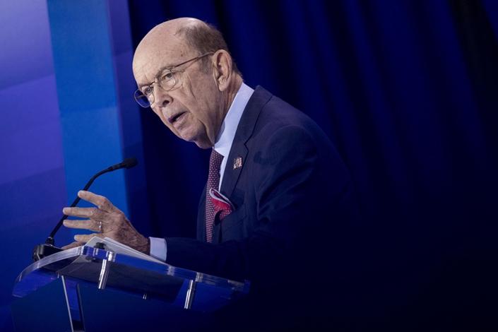 U.S. Commerce Secretary Wilbur Ross. Photo: Bloomberg