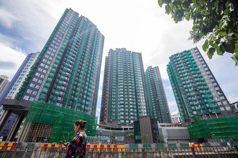 香港二手楼价半年跌近4% 负资产宗数增至128宗
