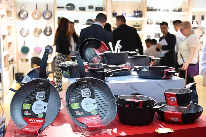 The Canton trade fair, China's flagship import-export event, ended Nov. 4. Photo: VCG