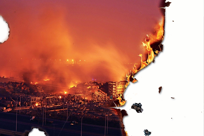 10 Years of Caixin: Tianjin's Lethal Explosions