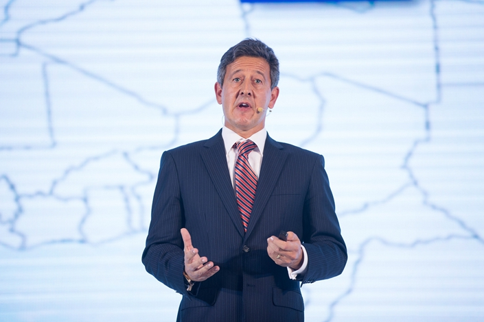P&G China CEO Matthew Price. Photo: VCG