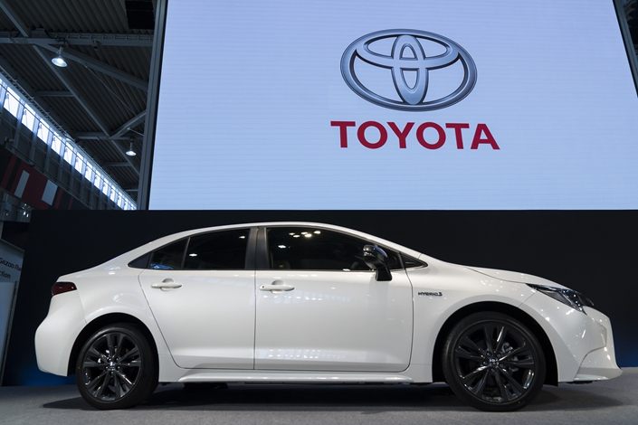 Toyota's unveils its latest Corolla sedan on Sept. 17 in Tokyo, Japan. Photo: VCG