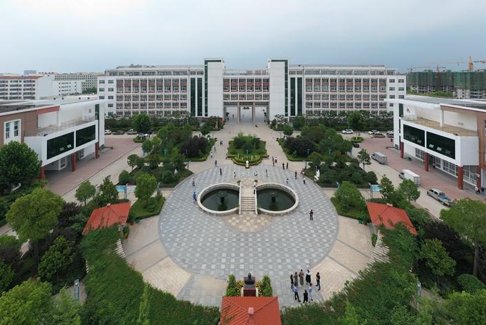 Dancheng No. 1 High School in Zhoukou, Henan province, on July 10. Photo: IC Photo