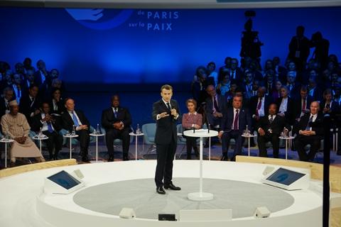 马克龙:欧洲可以成为中美协调平台