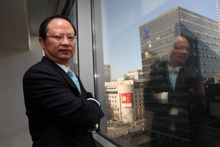 Wang Jianzhou, former chairman of China Mobile. Photo: IC Photo