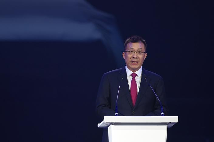 Wang Yongqing, general manager of SAIC General Motors. Photo: VCG