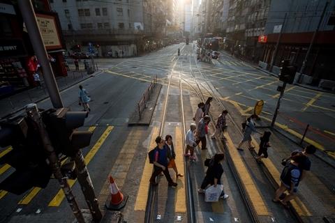 经济前景不明朗  IMF再次下调香港GDP增长预测