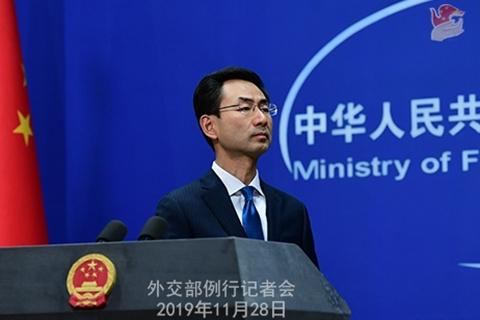 美涉港法案是否影响协商?外交部:强烈敦促不得实施