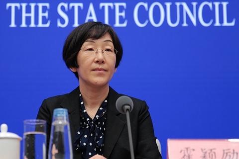 霍颖励:将为推进中日双边本币结算创造政策环境