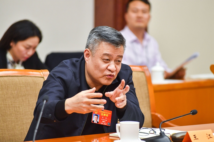 Wang Jiang, deputy governor of Jiangsu province, is slated to become Bank of China next president. Photo: VCG