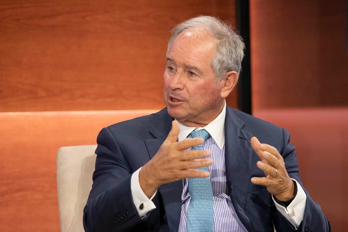 Blackstone Chairman and CEO Stephen Schwarzman. Photo: IC Photo