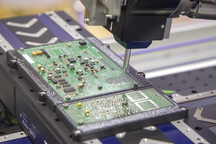 China's plan to significantly boost domestic semiconductor production has spurred massive investment. Photo: VCG
