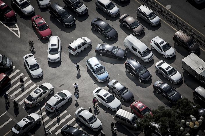 China's auto sales dropped 4.2% in November, the 17th monthly decline in the past 18 months. Photo: Bloomberg