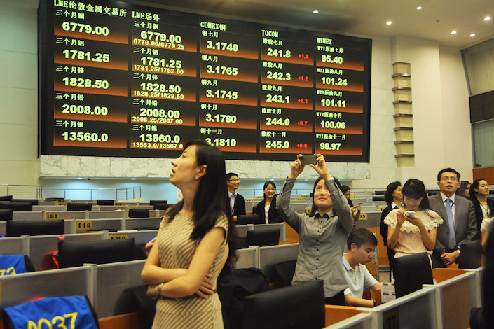 The expansion of China's nascent derivatives market is expected to attract foreign investors. Photo: VCG