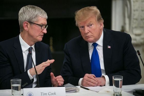 Apple Swerves $150 Levy on iPhones As U.S. and China Strike Trade Deal