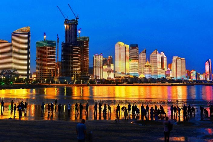 Qingdao, Shandong province. Photo: Bloomberg