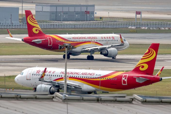 Hong Kong Airlines narrowly avoided a license revocation earlier this month amid capital crunch. Photo: Bloomberg