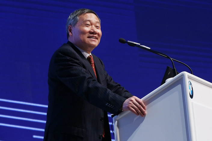 Former CSRC head Xiao Gang. Photo: VCG