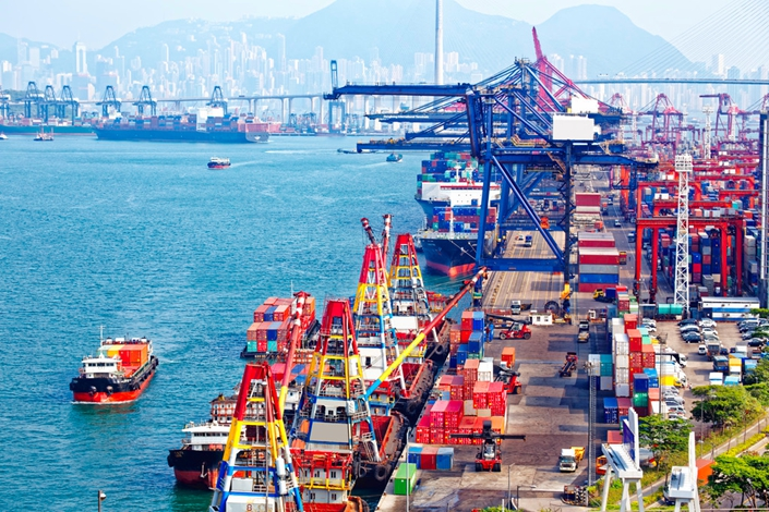 Hong Kong's goods exports fell 9.2% year-on-year in October, the 12th straight monthly decline.