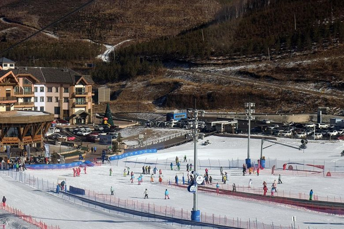 Thaiwoo Ski Resort, one of four ski resorts in Zhangjiakou's Chongli district, will be the site of the athletes' village and other non-competition venues for the 2022 Winter Olympics. Photo: Danson Cheong