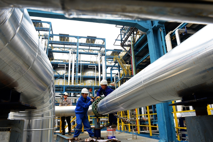 The entire increase in China's refining capacity has come from private refiners.
