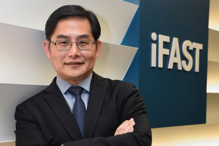 Lim Chung Chun, chairman and chief executive of iFast. Photo: The Straits Times
