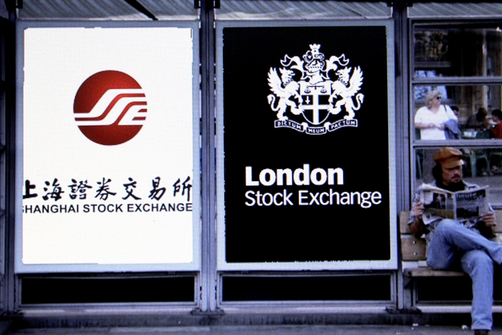 The China Securities Regulatory Commission said the Shanghai-London Stock Connect is operating as normal. Photo: IC Photo