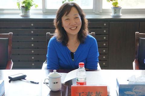 Wang Suying, former head of the China Welfare Lottery Distribution and Management Center.
