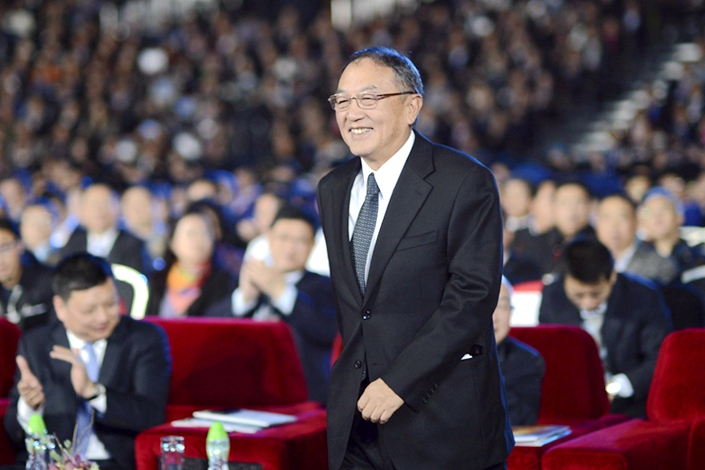 Liu Chuanzhi, retired founder of Lenovo.