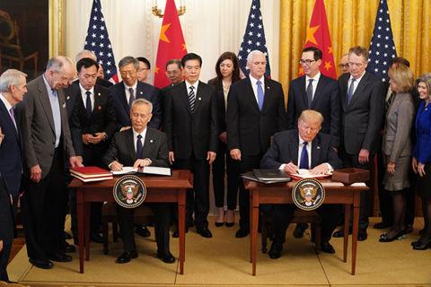 刘鹤:中美协议有效阻止脱钩倾向 证明不同体制大国也能合作