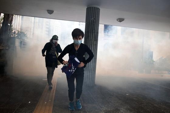 Moody's Downgrades Hong Kong for 'Inertia' Over Protests