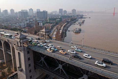 Wuhan Virus Lockdown Casts Cloud Over Industry Transit Hub