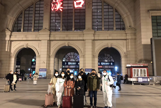 Reporter's Note: We Stayed in Wuhan as the Last Trains Pulled Out