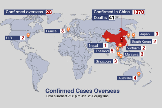 Travel Warnings Issued as Coronavirus Cases Confirmed on Four Continents