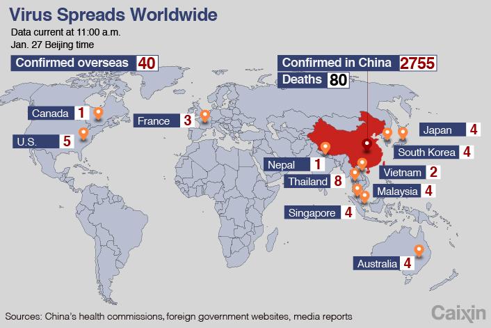 world health organization coronavirus number of cases